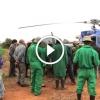 Helikopterrel siettek az egy hetes árva elefánthoz – Figyeld a megmentését