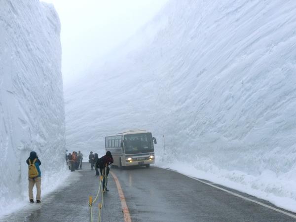 20 méteres hó Japánban1