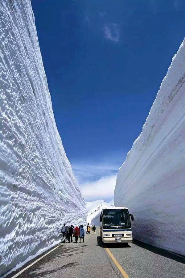 20 méteres hó Japánban2