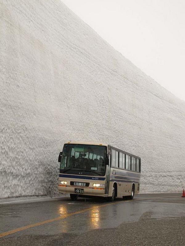 20 méteres hó Japánban6