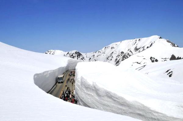 20 méteres hó Japánban8