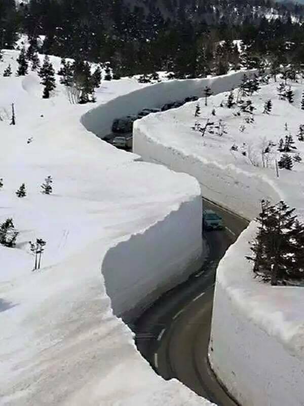 20 méteres hó Japánban9