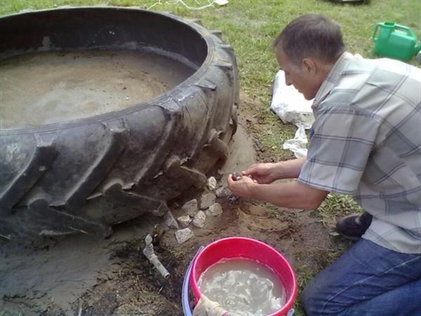 Csináld magad medence traktorgumiból 3