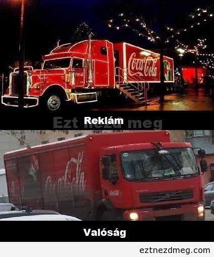 Reklámban és a valóságban